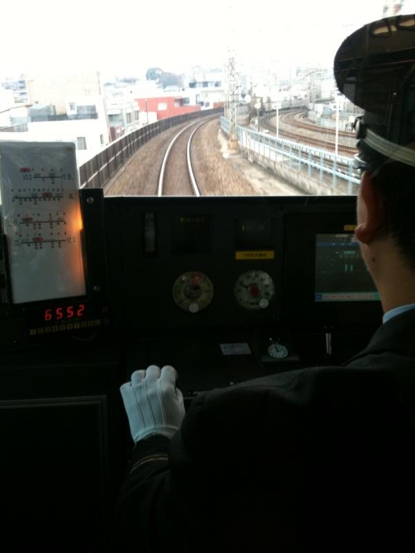 小田急の運転士さん